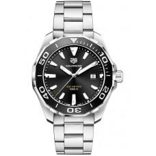 Réplica Tag Heuer Aquaracer 300M Quartz Negro Dial Hombres Reloj WAY101A.BA0746