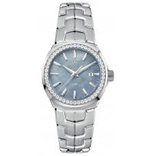 Réplica Tag Heuer Link Quartz 32mm Reloj de senoras WBC1315.BA0600