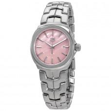 Réplica Tag Heuer Link Rosado Madre perla Dial Reloj de senoras WBC1317.BA0600
