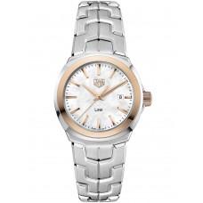 Réplica Tag Heuer Link Madre perla Dial Reloj de senoras WBC1350.BA0600
