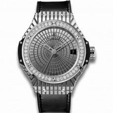 Réplica Hublot Acero Caviar Diamantes Big Bang Automatico Relojes
