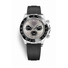 Réplica Rolex Cosmograph Daytona Oro blanco 116519LN Acero Negro Dial Reloj