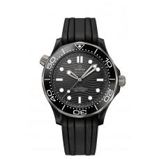 antimagnético de cerámica negro OMEGA Seamaster 210.92.44.20.01.001 Réplicas