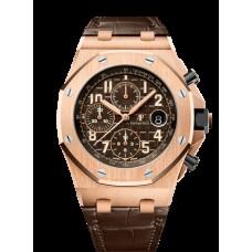 Audemars Piguet Royal Oak Offshore Cronografo 42mm Oro rosado 26470OR.OO.A099CR.01