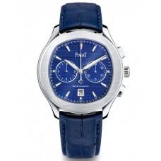 Piaget Polo S Cronógrafo Automático Azul Marcar Hombre G0A43002 Réplicas