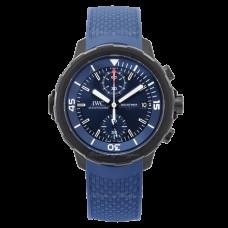 IWC Aquatimer Cronografo Edition Laureus Sport for Good Azul Dial Automatica Viento propio IW379507 para hombre