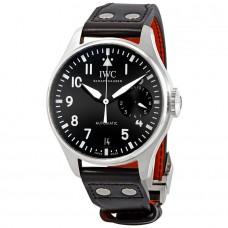 IWC de aviador Automatica Black Dial para hombre IW50100
