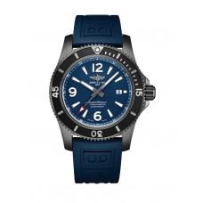 Breitling Superocean Automático 46 Negro Acero Azul M17368D71C1S1 Réplicas
