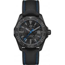 para hombre TAG Heuer Aquaracer Negra Marcar Carbon WBD218C.FC6447 Réplicas