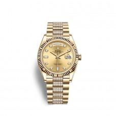 Rolex Day-Date 36 oro amarillo de 18 quilates M128238-0026 Réplicas