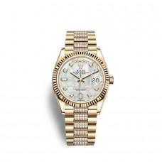Rolex Day-Date 36 oro amarillo de 18 quilates M128238-0032 Réplicas