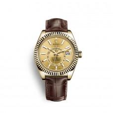 Rolex Sky-Dweller oro amarillo de 18 quilates M326138-0006 Réplicas