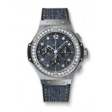 Hublot Big Bang Jeans Steel Diamonds 341.SX.2770.NR.1204.JEANS Réplicas