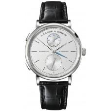 A.Lange&Sohne Saxonia Reloj Dual Time hombres replicas 385.026