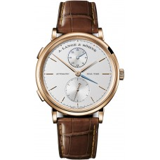 A.Lange&Sohne Saxonia Reloj Dual Time hombres replicas 385.032