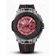 Hublot Big Bang Ferrari Titanium Carbon 401.NQ.0123.VR Réplicas