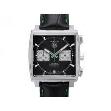 Tag Heuer Monaco McQueen Green Calibre 12 Cronografo