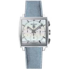 Tag Heuer Monaco Cronografo Date Blue Jean Strap