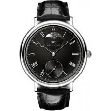 Imitación IWC Vintage Portofino Hand Wound reloj para hombre IW544801