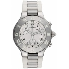 Cartier Must 21 Chronoscaph hombres Reloj W10184U2