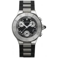 Cartier Must 21 Chronoscaph reloj de senora W10198U2