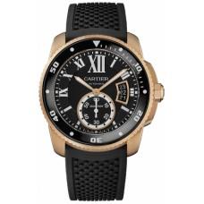 Calibre De Cartier Diver hombres Reloj W7100052