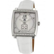 TAG Heuer Monaco Grye Date Diamante Bezel y Dial replicas de reloj