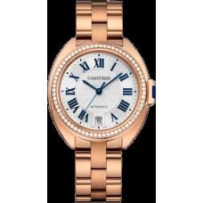 Cle de Cartier Automatico 35mm Reloj de mujer WJCL0006 Replicas