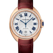 Cartier Cle de Cartier Automatico 40mm Midsize reloj WJCL0012 Replicas