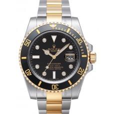 Rolex Submariner Date reloj de replicas 116613 LN dia