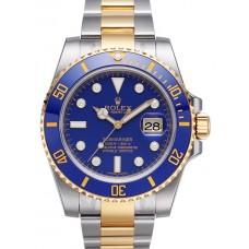 Rolex Submariner Date reloj de replicas 116613 LB dia