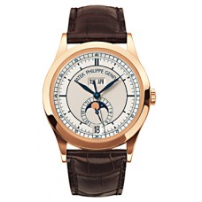 Patek Complicated Annual Calendar 18kt Oro rosa hombres Reloj 5396R