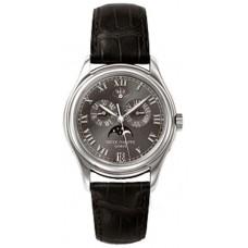 Patek Philippe Annual Calender Moonphase Marcar negro Automatico hombres Reloj 5056P