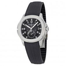 Patek Philippe Aquanaut Dual Time Marcar negro Automatico hombres Reloj 5164A-001