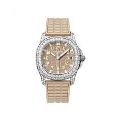 Patek Philippe Aquanaut Luce Haute Joaillerie Honey Beige Senoras Reloj 5069G-020