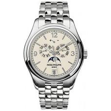 Patek Philippe Complicated Annual Calendar 18kt Oro blanco hombres Reloj 5146-1G