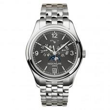 Patek Philippe Complicated Mechanical Slate esfera gris hombres Reloj 5146/1G-010