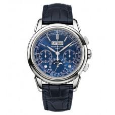 Patek Philippe Grand Complication Esfera azul Chronograph hombres Reloj 5270G-019