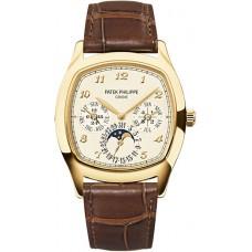 Patek Philippe Grand Complications Mechanical Cream Marcar hombres Reloj 5940J-001