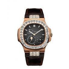 Patek Philippe Nautilus esfera gris Automatico hombres Reloj 5724R
