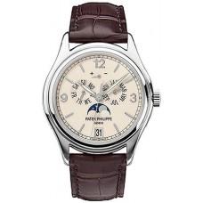 Patek Philippe Complicated Annual Calendar 18kt Oro blanco Automatico hombres Reloj 5146G