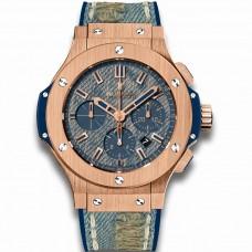 Hublot Big Bang Jeans Gold Diamonds 341.PL.2780.NR.1204.JEANS Réplicas